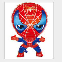 Spiderman Design Foil Aerostato di elio a palloncino 50 PCS / LOT