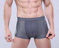 Wholesale Boxer Briefs Modal - Men's Underwear fashion men Modal boxer briefs Slim Breathable Underpants High quality men underwear colors