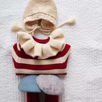 mädchen schal stil großhandel-Neue Art Winter weiche gestrickte Schal Allgleiches Baby warme einfarbige Jungen und Mädchen Baby Baumwolle Schal hochwertige Baumwolle Schals
