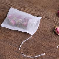 Wholesale Food Cheap Bag - empty teabags food grade filter single drawstring tea bags, disposable tea infuser, wholesale cheap price 6*8cm 9*10cm 5.5*7cm 7*9cm