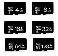 Wholesale Memory Sd Mini 32gb - Mciro SD cards Class10 TF card memory card mini TF memory card real capacity8GB 16GB 32GB for cell phones tablet