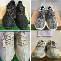 Wholesale High Socks Quality - gift(sock+keychian) PU quality Moonrock 350 Boost Low Shoes Sports Sneakers Shoes High Quility Kanye West Shoes Right Version US5-US13
