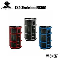 Sigelei spring rate - 100 Authentic Wismec EXO Skeleton ES300 Powered By High rate Batteries Spring Loaded Thread E Cigarette Vape Mod