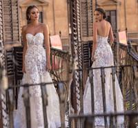 romantic empire wedding dress großhandel-Romantische Sweetheart Full Lace Brautkleider 2018 Neue Ankunft Country A Line Tüll Brautkleider Günstige Vintage Beach Wedding Gown