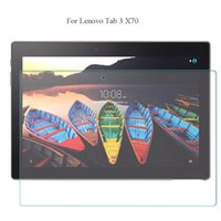 "Wholesale glass tablet lenovo - Wholesale- For Lenovo Tab 3 10.1"" X70L X70F X70M Tablet Pad Tempered Glass Screen Protector 2.5D 9H Hardness Transparent Glass Film"
