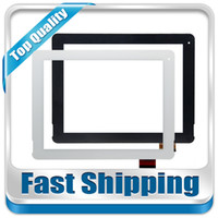 Wholesale M6 3g - Wholesale- For New Pipo M6 pro 3G Quad core F-WGJ97104-V2 Replacement Touch Screen Digitizer Glass 9.7-inch Black White Free Shipping