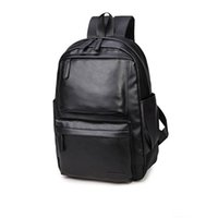 Atacado-2017 Gift For Men Mochila Escola Computador Mochila Laptop Masculino High School Estudante Universitário Bookbag Travel Moda Men Mochila