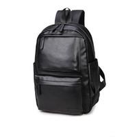 Wholesale College Korean Backpack - Wholesale- 2017 Gift For Men School Backpack Computer Laptop Backpack Male High School College Student Bookbag Travel Fashion Men Backpack