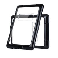 Wholesale Kindle Paperwhite Skins - Shockproof PC TPU Protective Cover Corner Protection Black Transparent Case For Kindle Paperwhite With Opp Bag