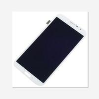 mega lcd großhandel-Vorderes Montage LCD-Anzeige + Touch Screen Analog-Digital wandler-Ersatz-Teil für Samsung-Galaxie Mega 6.3 i9200 i9205 i527 Freies Verschiffen