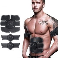 Wholesale Function Training - HOT NEW Multi-Function EMS abdominal exerciser Device Hous abdominal muscles intensive training Electric Weight Loss Slimming Massager