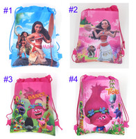 Wholesale Kids Cartoon Drawstring Party Bags in Bulk from Best ...