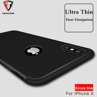 Wholesale Ten Phones - Soft Slim Silicone Matte TPU phone case For iPhone X Ten 8 10 7 7plus 6 6s plus iphone 8 Galaxy Note 8 S8 plus S7 Edge protective Shelll