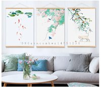 painting small flowers - Small fresh and elegant flower living room bedroom restaurant entrance decoration painting Nordic modern simple new Chinese painting