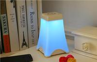 led eiffel kuleleri toptan satış-Led enerji tasarrufu Yaratıcı Eyfel Kulesi gece lambası taşınabilir USB Şarj sensör ışığına dokunun
