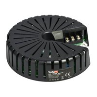 Wholesale 12v power supply for leds - SANPU Ultra Thin Power Supply 12V 24V 150W AC-DC Lighting Transformer LED Driver Aluminum Round for LEDs Strips Lights