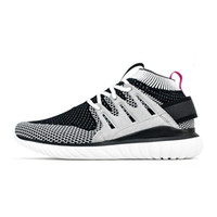 Wholesale Mens Pointed Toe Ankle Boots - Hot Originals Tubular Nova Pack Tubular Primeknit fashion mens casual boots Running shoes 3 colors availble size 40-44