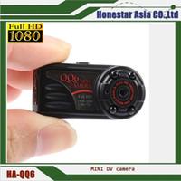 Wholesale Dc Spy Hidden Cameras - QQ6 FULL HD 1080P Spy Camera DV DC MINI Thumb Hidden Digital DVR Video Camcorder with factory price