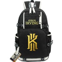 Wholesale Waterproof Canvas Rucksack - Kyrie Irving backpack Basketball KI school bag Waterproof daypack Canvas schoolbag Outdoor rucksack Sport day pack