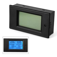Wholesale Digital Volt Meter Ammeter - AC 80-260V 20A LCD Digital Volt Watt Current Power Meter Ammeter Voltmeter BI508