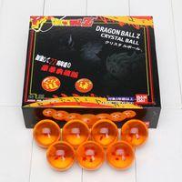 Wholesale 4cm Ball - 50sets lot 4CM DragonBall 7 Stars Crystal Ball Set of 7 pcs Dragon Ball Z Balls Complete Set New in Box