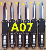 OEM Mict Troodon A07 10 modelos de ação dupla opcional Caça Folding Pocket Knife Survival Knife Xmas gift for men 1pcs freeshipping