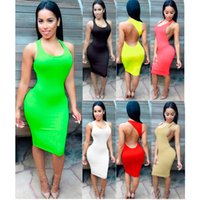 Hot Sale Summer Mulheres 's Sexy Tube Cut Out vestido preto Mini Club Night Club Club Dress # 001 51