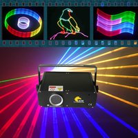 Wholesale Animation Lighting Disco - Mini 1W RGB laser 2D 3D with SD Card laser beam animation for disco dj stage ktv pub party wedding laser lighting projector