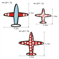 Wholesale Set Girl S Jeans - wholesale12pcs s -new fashion jewelry cute acrylic plane three sets of cartoon brooch needle button both girl and boy jeans bag decorations