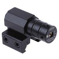 lasersichthalter für gewehr großhandel-Schiene Red Dot Laser Taktische Reichweite Red Dot Laser-anblick-bereich Taktische refile bereiche 50-100 Meter Für Gewehr Pistole Weber-einfassung + B