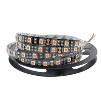 Wholesale Tape For Pcb - Black PCB 5M Led Strip 5050 SMD Non-Waterproof IP20 60Leds   M Fita Flexible Ribbon String Led Tape Lamp For Christmas Holiday