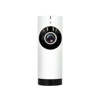 Wholesale Lens Panoramic - EraSmart WIFI wireless HD 720P fisheye lens panoramic handheld night vision panoramic mini camera White