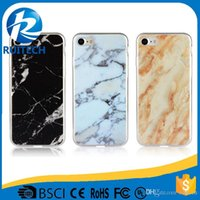 Wholesale Iphone Case Supplier - China Suppliers IMD Printing Marble Texture TPU Cell Phones Case Back Cover for iPhone