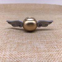 Wholesale Golden Speed - Fidget Spinner Golden Snitch Harry Potter Fans metal finger spinner toy high speed focus edc toy