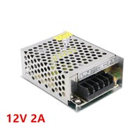 Wholesale Switching Power Supply Cctv - DC 12V 2A Power Supply transformer switching 110V-220V Converter Adapter DC 12V 2A for LED CCTV