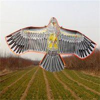 Vente en gros - Nouveaux jouets de haute qualité marque Huge Eagle Kite Sans String Novel Toy Kites Eagles Large Flying For Outdoor Fun Sports