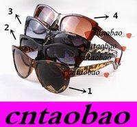 Wholesale Wholesale Mirrors For Sale - Brand Sunglasses Hot Sale Sun glasses Women Brand Designer Sunglasses Black leopard wine red UV400 SunShades For Summer 8105 Fast Ship