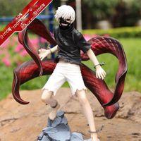 Wholesale Kotobukiya Figure - Tokyo Ghoul Kaneki Figure Ken Awakened ver Kotobukiya Artfx PVC Figurine Japanese Anime Collections Toys 23CM