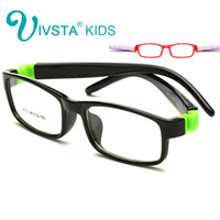 Wholesale Clear Glasses For Kids - Wholesale- IVSTA 8812 No Screw Optical glasses frame for kids Children frames eyewear Child glass clear Toddler's myopia boys girls Rubber