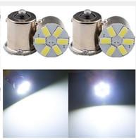 Wholesale Led Auto 1156 Bulb - 1156 1157 6SMD 5630 Car LED Tail Brake Lights Auto Reverse Turn Signals Lamps Backup Parking Bulbs