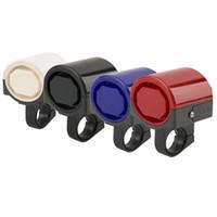 ciclo electrónico al por mayor-MTB Road Bike Bike Electronic Bell Loud Horn Ciclismo Hooter Siren Holder Con más de 90 db de sonido envío gratis