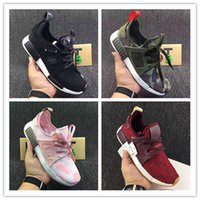 Wholesale Discount Summer Shoes For Women - 2017 Discount Cheap High Quality NMD XR1 Duck Camo X City Sock Pk Wool Boost for Top Quality Fashion Running Shoes Size Euro 36-45