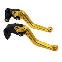 Wholesale Honda Rc51 Motorcycle - Eight Colors Regular Short CNC Aluminum Motorcycle Brake Clutch Levers For HONDA RC51 RVT1000 SP-1 SP-2(2000-2006) KLT-001 S