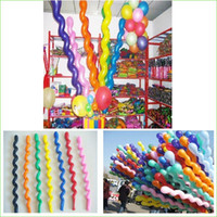 Wholesale Spiral Latex - 100Pcs Pack New Fashion Giant Rubber Helium Spiral Latex Balloons Wedding Birthday Party Decoration Ballons Wholesale