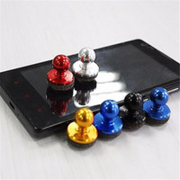 Wholesale joystick for mobile phones for sale - Mini Tactile joystick Universal mobile phone roker sucker Gamepad game controllers for iPhone iPad