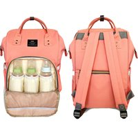 Atacado- PYETA Moda Mummy Maternidade Nappy Bag Brand Grande capacidade Baby Bag Travel Backpack Desinger Nursing Bag