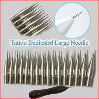 Wholesale Dedicated Tattoo - 10pcs bag Tattoo Dedicated Large Needle for Skin Mole Pen Freckle Dark Spot Remover needle for Face Wart Pen Salon needle wholesale