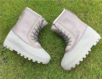 Wholesale Baseball Rock - Peyote 950 Boost Kanye West Boot Women Winter Genuine Leather 950 High Top Sneakers Men Running Shoes Outdoor Sneakerboots Moon Rock