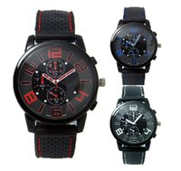 Wholesale The explosion of car concept fashion watch men dial three eye cool Sports Watch