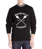 Wholesale lacrosse men - Wholesale-BEACON HILLS LACROSSE Wolf Stiles Stilinski Teen 24 men's sportswear hoodies pullover 2016 new fashion sweatshirt harajuku suits